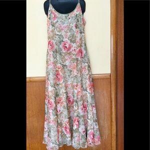 Dresses & Skirts - Lovely summer print crinkled chiffon dress